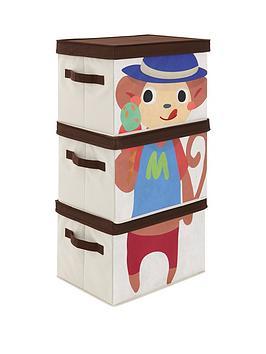 kidspace-ideal-kids-monkey-storage-boxes-set-of-3