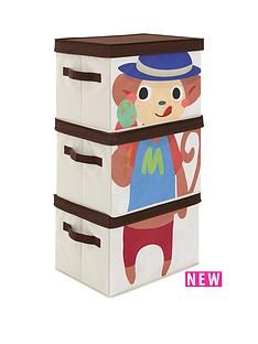 kidspace-ideal-kids-set-of-3-monkey-storage-boxes