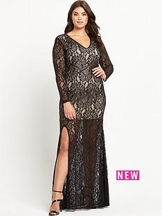 forever-unique-curve-kelsie-lace-maxi-dress