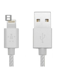 belkin-lightning-to-usb-braided-tangle-free-cable-with-aluminium-connectors-for-ipad-ipod-iphone-5-5s-5c-6-and-6-plus-gold-mfi-approved-12m