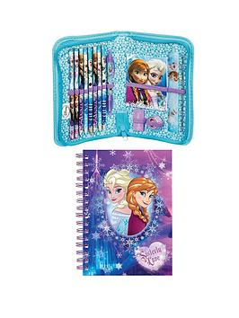disney-frozen-notebook-and-filled-pencil-case
