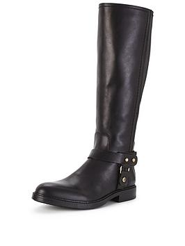 Tommy Hilfiger Holly Leather Knee Boot
