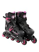 Wired Flash Adjustable Inline skates 13-3 - Pink