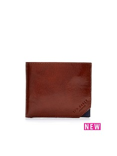 ted-baker-leather-contrast-corner-wallet