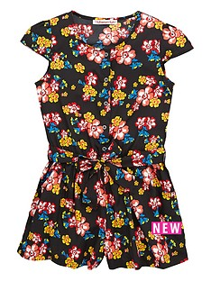 freespirit-girls-70sampnbspboho-floral-playsuit