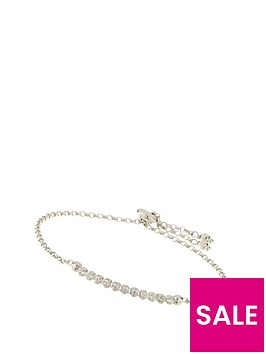 the-love-silver-collection-sterling-silver-white-cubic-zirconia-adjustable-slider-bracelet