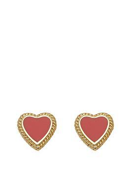 juicy-couture-enamel-heart-earring-set