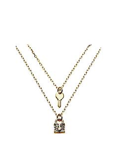 juicy-couture-padlock-and-key-double-necklace