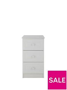 Calando 3-Drawer Bedside Cabinet