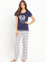Bear Check Pyjama
