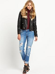 vero-moda-biker-jacket-with-fauxnbspfur-collar