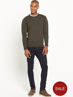 goodsouls-crew-neck-mens-jumper-khaki
