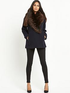 french-connection-mia-wool-coat-with-faux-fur-collar