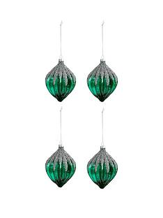 laurence-llewelyn-bowen-laurence-llewelyn-bowen-peacock-sparkle-glass-glitter-baubles-set-of-4