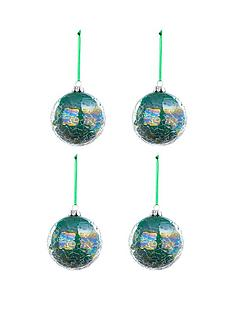 laurence-llewelyn-bowen-laurence-llewelyn-bowen-peacock-iridescent-crackle-baubles-ndash-set-of-4