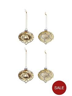 laurence-llewelyn-bowen-champagne-gold-eleganza-baubles-ndash-set-of-4