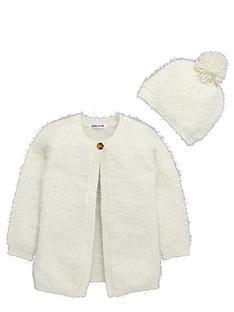 ladybird-toddler-girls-cream-eyelash-cardigan-with-bobble-hat-1-7-years