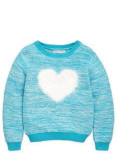 ladybird-toddler-girls-eyelash-heart-applique-knit-jumper-1-7-years