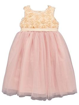 Ladybird Girls Rose Bud Bodice and Tutu Occasion Dress - 12 months - 7 years