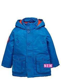 ladybird-boys-hooded-coat-with-applique-badge