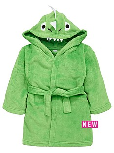 ladybird-boys-dino-fleece-robe