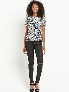 definitions-animal-printed-boxy-top