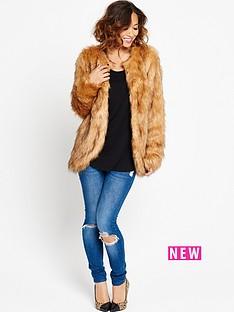 myleene-klass-faux-fox-fur-coat