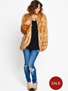 myleene-klass-faux-fox-fur-coat