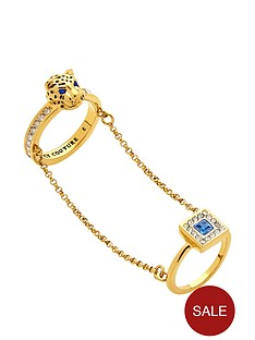 juicy-couture-leopard-and-square-gem-set-double-ring