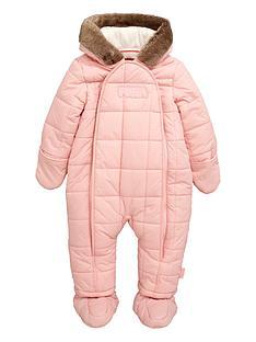 puffa-baby-girls-puffa-faux-fur-snowsuit-blossom