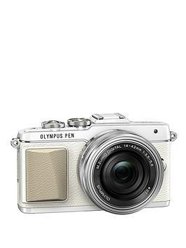 olympus-pen-e-pl7-camera-with-ed-14-42-mm-mzuiko-ez-pancake-lens-kit-white