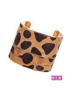 leopard-cuff