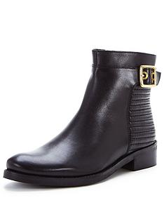 dune-padston-buckle-detail-leather-ankle-boot