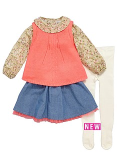 ladybird-girls-blouse-neon-knitted-tank-skirt-and-tights-set-4-piece-12-months-7-years
