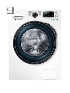 Samsung WW80J6410CW 8kg Load, 1400 Spin Washing Machine with ecobubble™ Technology - White, 5 Year Samsung Parts and Labour Warranty