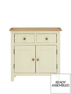 london-ready-assembled-compact-cream-sideboard-with-oak-top