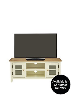 Luxe Collection - London Painted Ready Assembled TV Unit - fits up to 55 inch TV