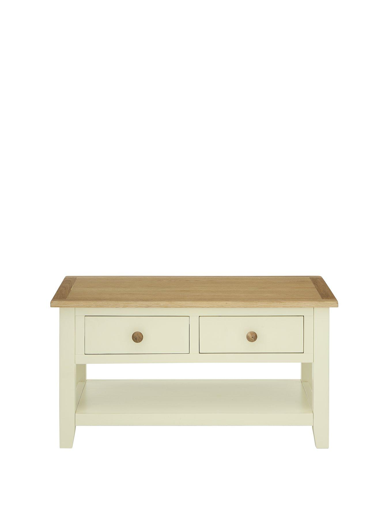 Luxe Collection London Painted Coffee Table verycouk