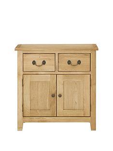 london-solid-oak-ready-assembled-narrow-compact-sideboard