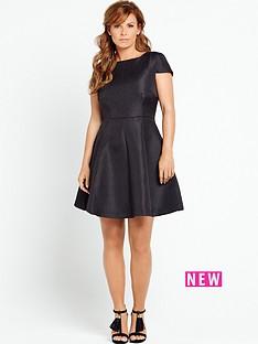 coleen-coleen-rooney-full-skirt-dress