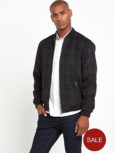 taylor-reece-check-mens-bomber-jacket