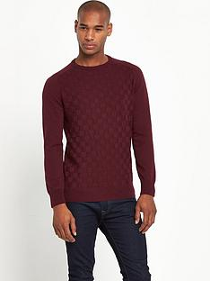 taylor-reece-crew-neck-mens-jumper-ndash-burgundy