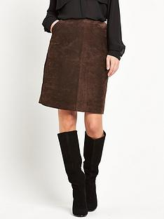 wallis-leather-skirt