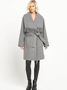 miss-selfridge-fringe-coat