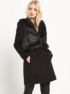miss-selfridge-2-in-1-faux-fur-coat