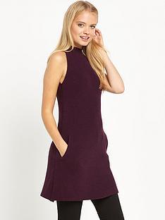 miss-selfridge-high-neck-a-line-swing-dress