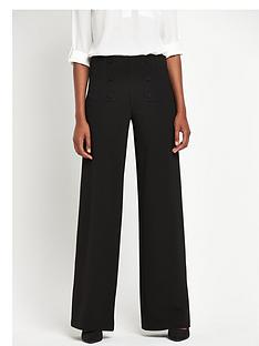 definitions-wide-leg-button-trousers-tall