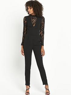 definitions-petite-long-sleeve-lace-jumpsuit
