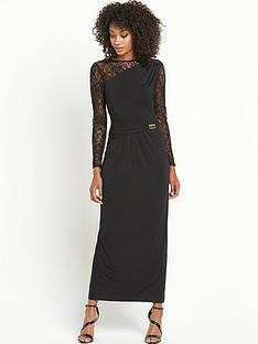 definitions-petite-long-sleeve-lace-maxi-dress