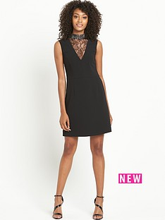 definitions-lace-high-neck-a-line-dress